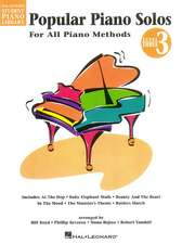 Popular Piano Solos, Level 3: For All Piano Methods