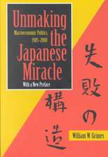 Unmaking the Japanese Miracle