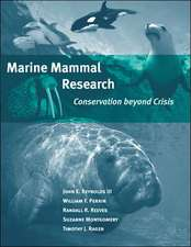Marine Mammal Research – Conservation Beyond Crisis