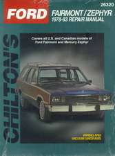 Ford Fairmont and Zephyr, 1978-83