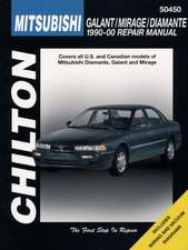 Mitsubishi Galant, Mirage, and Diamante, 1990-00