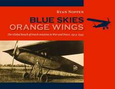 Blue Skies, Orange Wings