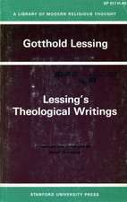 Lessing's Theological Writings: Selections in Translation