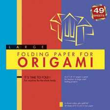 "Folding Paper for Origami - Large 8 1/4"" - 49 Sheets: Tuttle Origami Paper: High-Quality Large Origami Sheets: Instructions for 6 Projects Included"