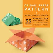 "Origami Paper - Pattern - 6 3/4"" - 33 Sheets: Tuttle Origami Paper: High-Quality Origami Sheets Printed with 4 Different Designs: Instructions for 6 Projects Included"