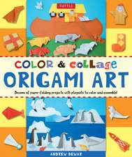 Color & Collage Origami Art Kit: Origami Kit with Instruction Book, 98 Origami Papers & 35 Projects: This Easy Origami for Beginners Kit is Fun for Kids & Parents
