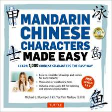 Mandarin Chinese Characters Made Easy: (HSK Levels 1-3) Learn 1,000 Chinese Characters the Easy Way (Includes Audio CD)