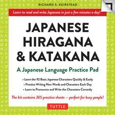 Japanese Hiragana & Katakana Language Practice Pad: Learn the Two Japanese Alphabets Quickly & Easily with this Japanese Language Learning Tool