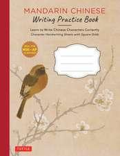 Mandarin Chinese Writing Practice Book