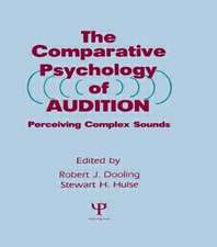 The Comparative Psychology of Audition