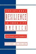 Educational Resilience in inner-city America
