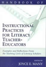 Handbook Instructional Practices