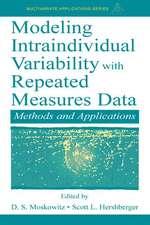 Modeling Intraindividual Variabil.