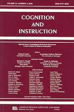 Investigating Participant Structures in the Context of Science Instruction:  A Special Issue of Cognition and Instruction