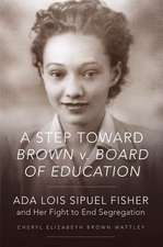 A Step Toward Brown V. Board of Education