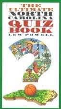 Ultimate North Carolina Quiz Book