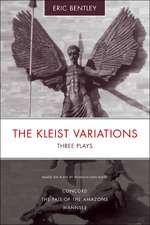The Kleist Variations: Three Plays