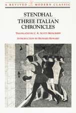 Three Italian Chronicles: Stories