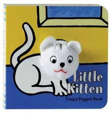 Little Kitten Finger Puppet Book