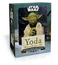 Yoda Doll with Book:  Bring You Wisdom, I Will