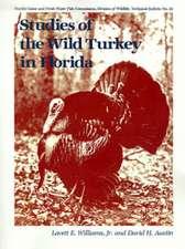 Studies of the Wild Turkey in Florida