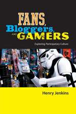 Fans, Gamers, and Bloggers:  Exploring Participatory Culture