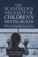 Scandalous Neglect of Children's Mental Health