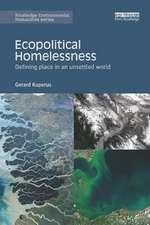 Ecopolitical Homelessness