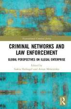 Criminal Networks and Law Enforcement