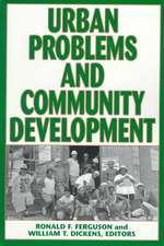 Urban Problems and Community Development