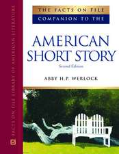 The Facts on File Companion to the American Short Story Set