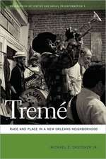 Treme:  Race and Place in a New Orleans Neighborhood