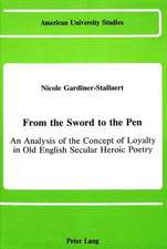 From the Sword to the Pen
