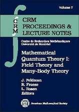 Mathematical Quantum Theory I