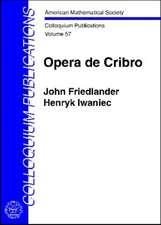 Friedlander, J:  Opera de Cribro
