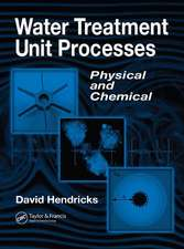 Water Treatment Unit Processes