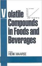 Volatile Compounds in Foods and Beverages