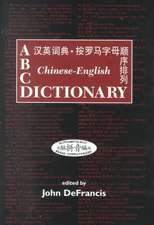 DeFrancis:  ABC Chin-Eng Dict Ref C