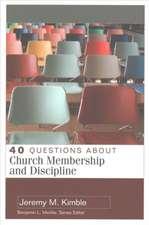 40 QUES ABT CHURCH MEMBERSHIP