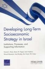 Developing Long-Term Socioeconomic Strategy in Israel