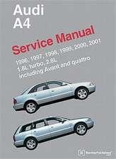Audi A4 (B5) Service Manual:  1.8l Turbo, 2.8l, Including Avant and Quattro