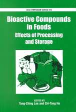 Bioactive Compounds in Foods: Effects of Processing and Storage