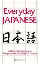 Everyday Japanese