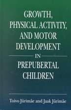 Growth, Physical Activity, and Motor Development in Prepubertal Children:  A Guide for Software Project Managers