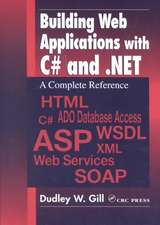 Building Web Appliations with C# and .Net:  A Complete Reference