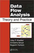 Data Flow Analysis:  Theory and Practice