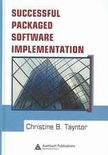 Successful Packaged Software Implementation