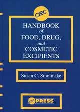 CRC Handbook of Food, Drug, and Cosmetic Excipients