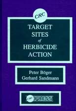 Target Sites of Herbicide Action