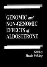 Genomic and Non-Genomic Effects of Aldosterone